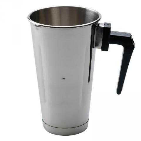 Nerezová nádoba pro frapovač s rukojetí 900 ml