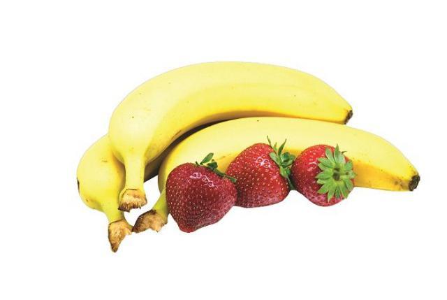 Milkshake Banán - Jahoda instantní nápoj, 25g